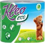 Туалетная бумага Kleo Eco 4 рулона 2 слоя
