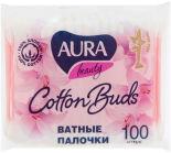 Палочки ватные Aura Beauty 100шт