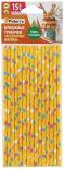 Бумажные трубочки Paterra Воздушные шарики 6*200 15шт