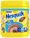 Какао-напиток Nesquik быстрорастворимый на 30% меньше сахара 420г