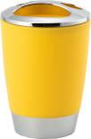 Стакан для зубных щеток Swensa Альма желтый