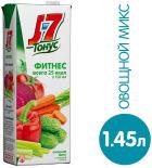 Напиток J-7 Тонус Фитнес Овощной микс 1.45л