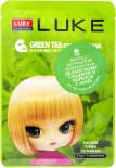 Маска для лица Luke с экстрактом зеленого чая 21г