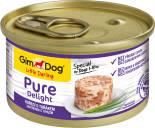 Корм для собак GimDog Pure Delight из цыпленка с тунцом 85г