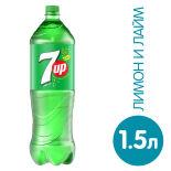 Напиток 7UP Лимон-лайм 1.5л