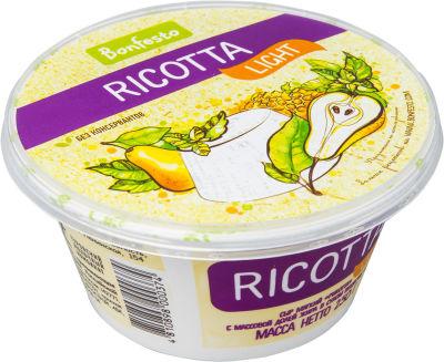Сыр Bonfesto Ricotta Light 40% 250г