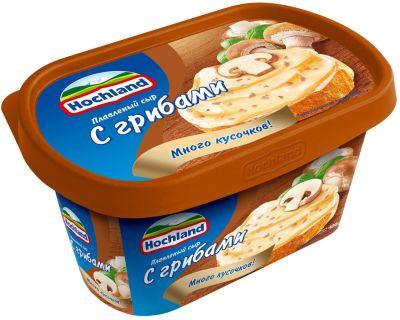 Сыр плавленый Hochland с грибами 55% 400г