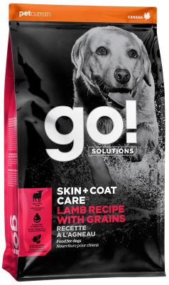 Сухой корм для щенков и собак Go! Skin+Coat Care с ягненком 11.34кг
