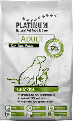 Сухой корм для собак Platinum Adult Курица 1.5кг