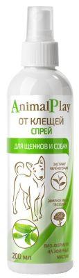 Спрей для щенков и собак Animal Play от клещей 200мл