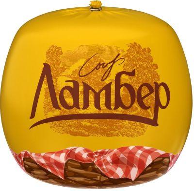 Сыр Ламбер Традиционный 50% 0.4-0.6кг