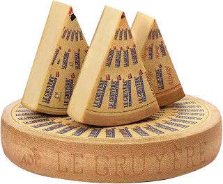 Сыр Margot Fromages Le Gruyere AOP Классический 49% 0.2-0.3кг