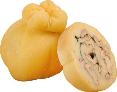 Сыр Иван да Марья Сырогожский узелок с базиликом и грецкими орехами 52% 0.1-0.3кг