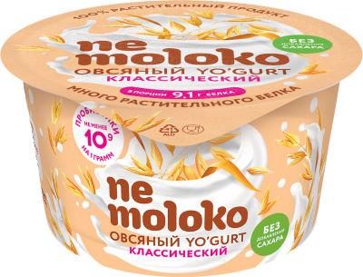 Десерт Nemoloko Овсяный классический 130г