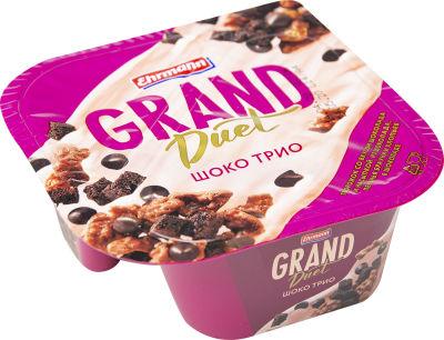 Десерт творожный Ehrmann Grand Duet Шоко Трио 138г