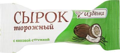 Сырок творожный ВкусВилл с кокосовой стружкой 5% 40г