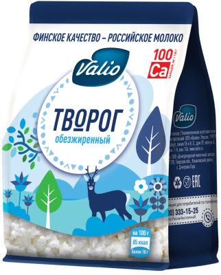 Творог Valio обезжиренный 0% 200г