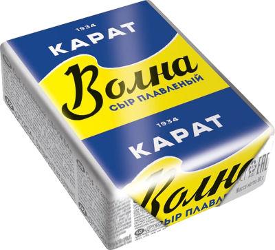 Сыр плавленый Карат Волна 45% 90г