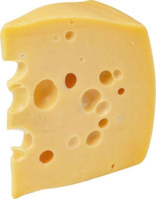 Сыр Маркет Зеленая линия Маасдам 45% 0.2-0.3кг