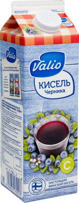 Кисель Valio Черника 950мл