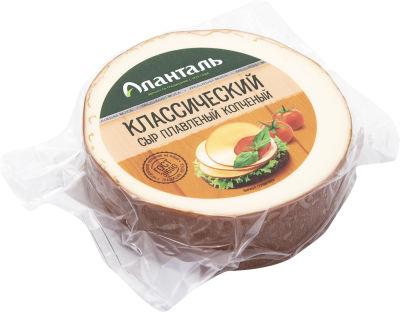 Сыр Аланталь Классический плавленый копченый 40% 240г