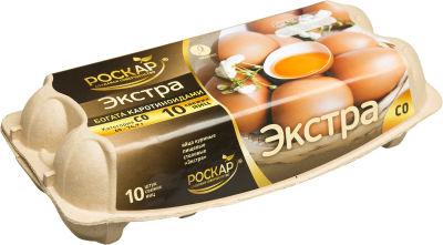 Яйца Роскар Экстра СО коричневые 10шт